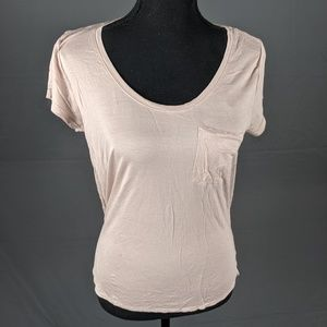 H&M Pinkish Pocket Tee (B8)